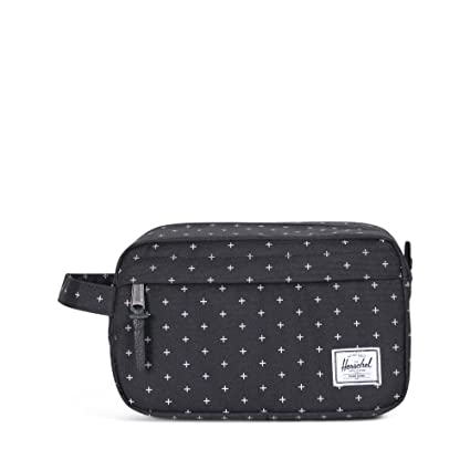 5c4840a3d05f Herschel Chapter Travel Kit Bag Black Gridlock  Amazon.co.uk  Luggage