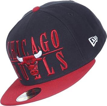 A NEW ERA Era 59Fifty NBA Tour Step Over Chicago Toros Gorra  Amazon.es   Deportes y aire libre ef1bd2f39c0