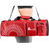 Open end Yoga Mat Bag 5 Pockets - Fits any Mat Size | Available in 5 colors