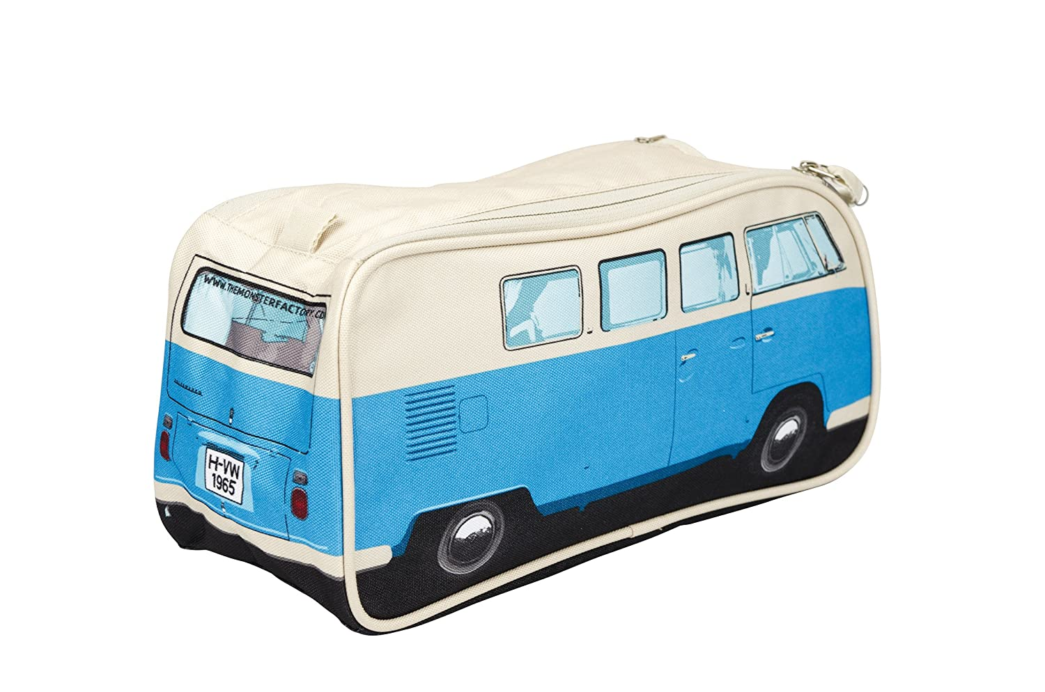 14aebf5b8ee0 Amazon.com  The Monster Factory VW Volkswagen T1 Camper Van Toiletry Wash  Bag - Blue - Multiple Color Options Available  Health   Personal Care