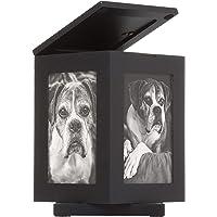 Pearhead Pet Memorial Urn, Cat or Dog Memory Box, Pet Memorial Keepsake
