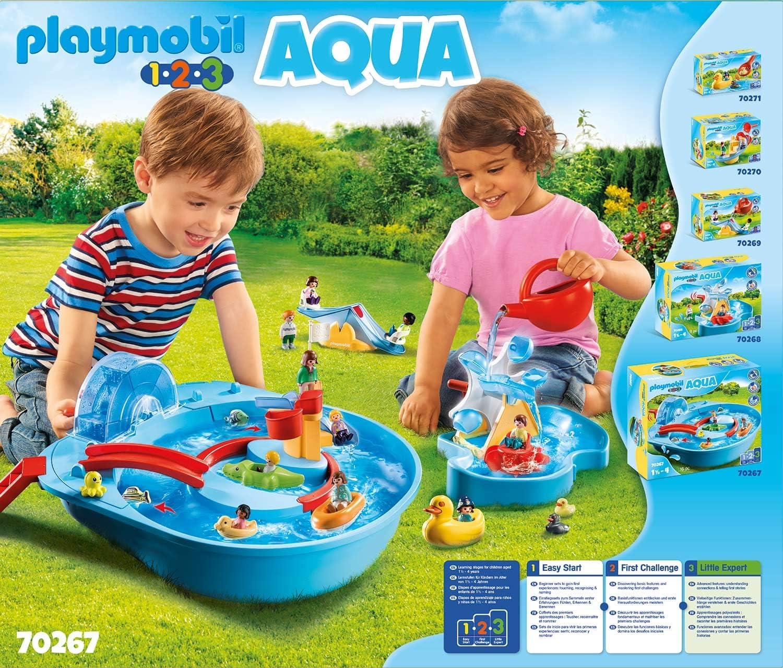 Playmobil 1 2 3 Agua Parque Acuático 70267