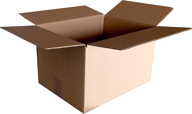 CAJA PARA MUDANZA 4 SOLAPAS CARTÓN SENCILLO 60x40x29. LOTE 10 UNIDADES: Amazon.es: Oficina y papelería