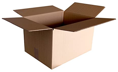 Lote de 10 Cajas 40x29x22cm Cartón Sencillo