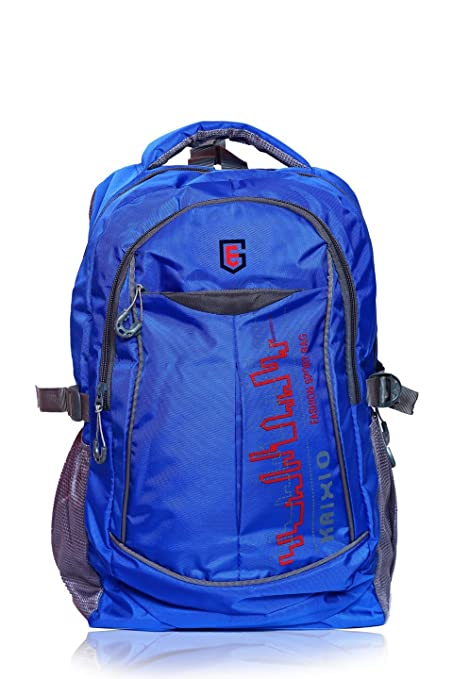 7f5a2f3c70bf THE EG STORE Unisex Polyester Backpack (Blue)  Amazon.in  Bags ...