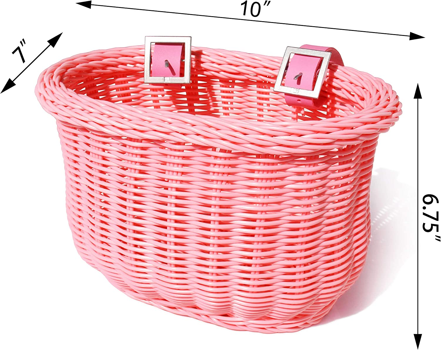 Solid Bicycle Front Basket Wear Resistant Shopping Holder Cycling Children Kids