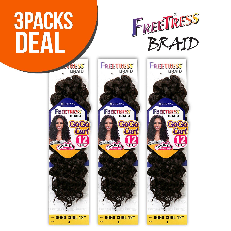 amazoncom freetress synthetic hair crochet braids gogo
