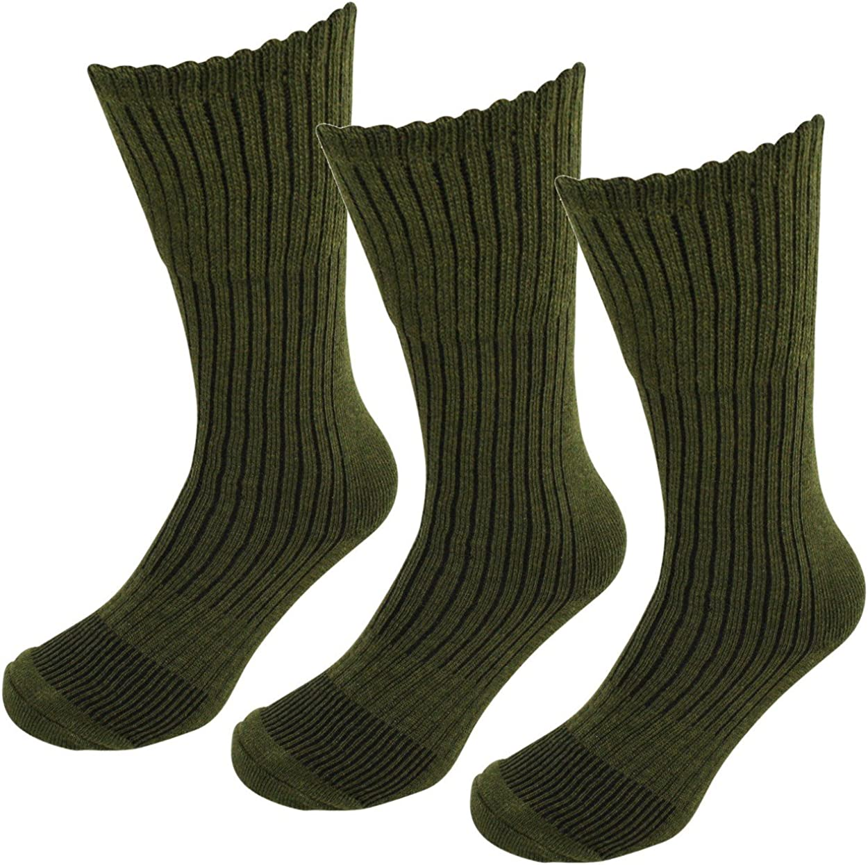 EUR 39-45 3 Pairs Mens Gentle Grip Top High Performance Welly Socks Size UK 6-11