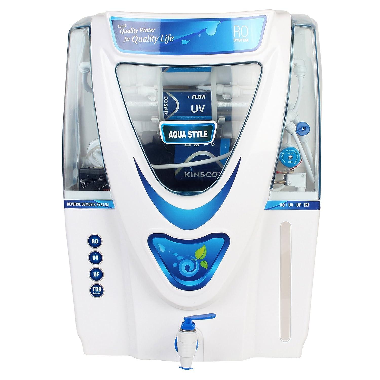 Kinsco Aqua Style 15 L Ro+Uv+Uf+Tds Adjuster Water Purifiers: Amazon ...