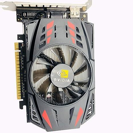 Meiyiu Tarjeta gráfica discreta GTX1050Ti 4G DDR5 HD Game ...