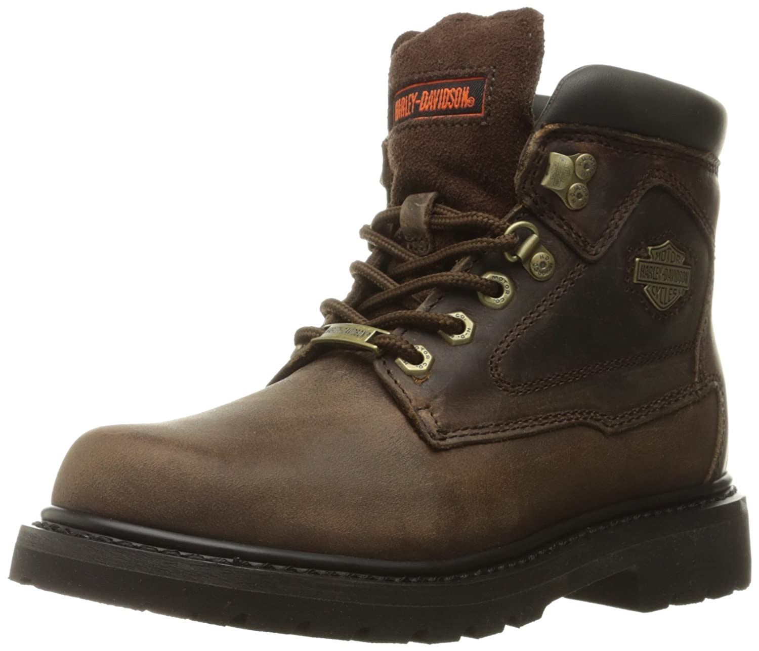 Harley-Davidson Women's Bayport Work Boot B01B420E3A 9.5 B(M) US|Brown