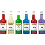 Hawaiian Shaved Ice Syrup 6 Pack, Quarts