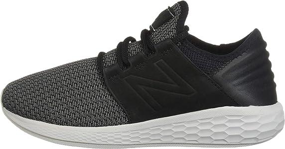 New Balance Cruz V2 Fresh Foam Zapatillas para correr para hombre, negro/castlerock/nubuck, 7 D US: Amazon.es: Zapatos y complementos
