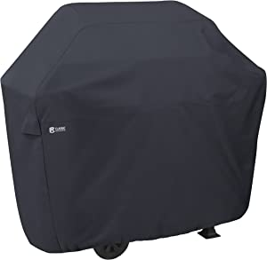 Classic Accessories 55-306-030401-00 Water-Resistant 58 Inch BBQ Grill Cover,Black,Medium