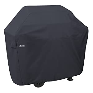 Classic Accessories Grill Cover, Large, Black
