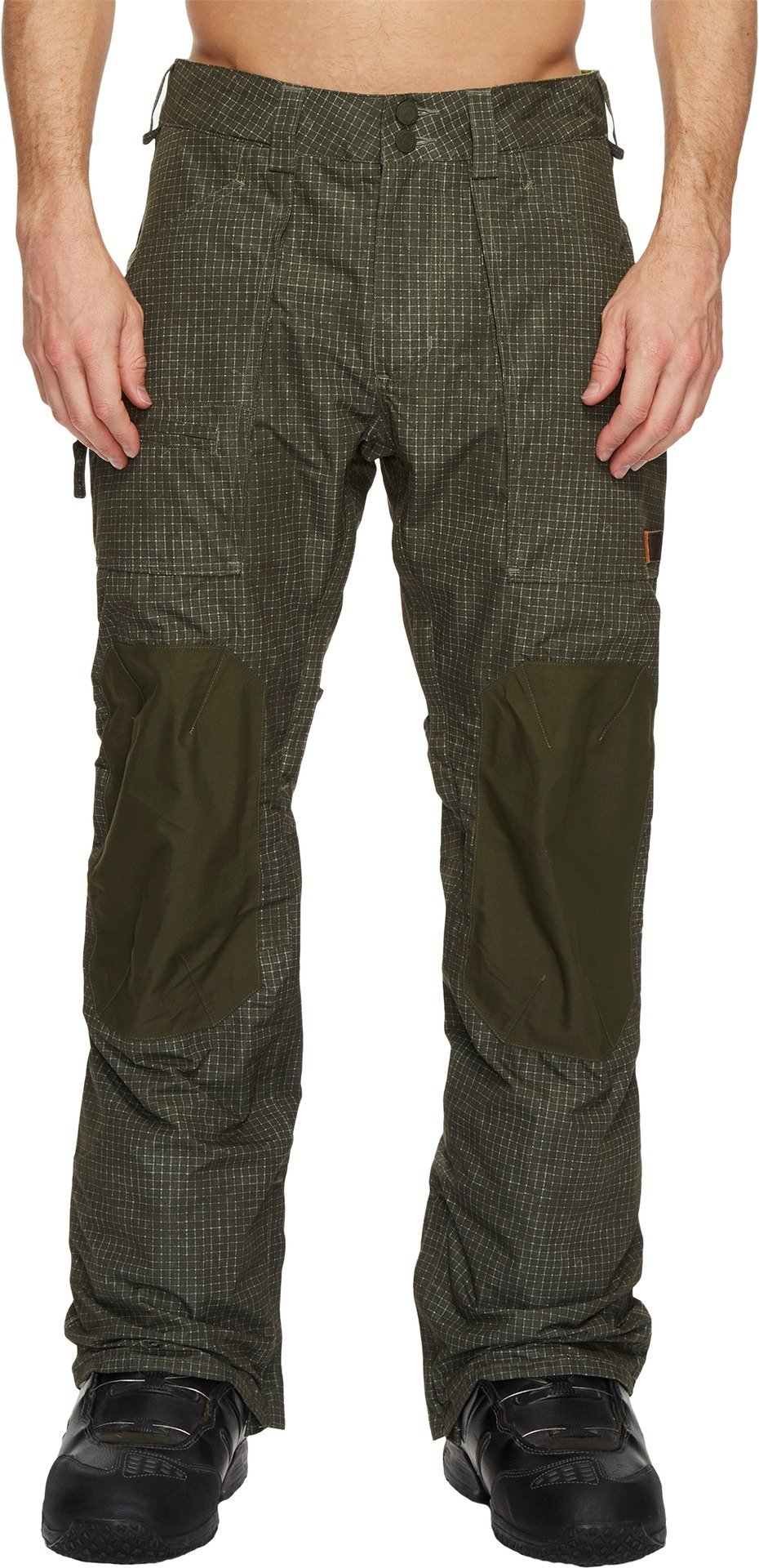 Burton Men's Southside Pant Forest Night Ripstop Texture/Forest Night XX-Large 33
