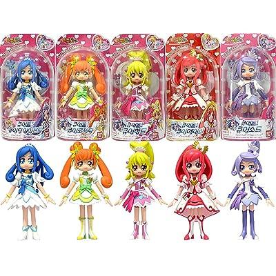 bandai korea Glitter Force PreCure doki doki PreCure Pretty Cure 5 Figure Doll Set New: Toys & Games [5Bkhe1804822]
