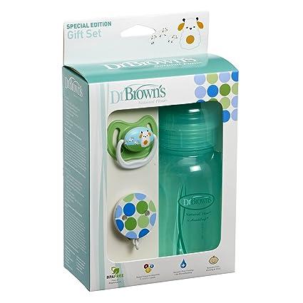 Dr Brown s Chupete Verde Botella y Set de regalo: Amazon.es ...