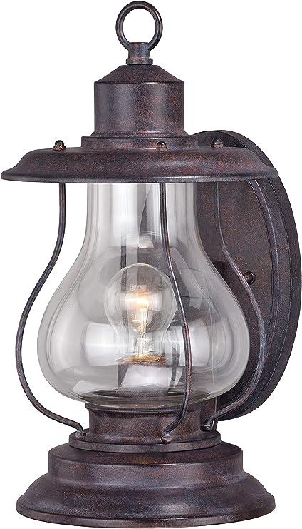 Patina on light bulb