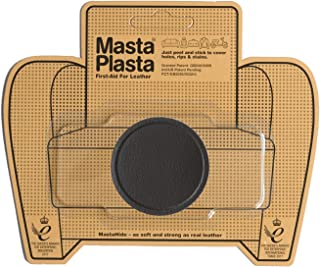 MastaPlasta Dark Brown Self-Adhesive Leather Repair Patches. Choose Size/Design. First-aid for Sofas, Car Seats, Handbags, Jackets etc.