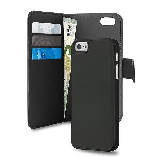 2 opinioni per Puro Ipc5Bookc3Blk- Custodia a portafoglio in similpelle con 3 slot per carte di