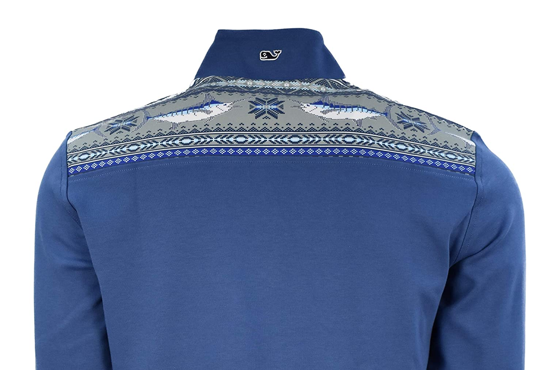 Vineyard Vines Mens Jersey 1//4 Zip Pullover Shirts