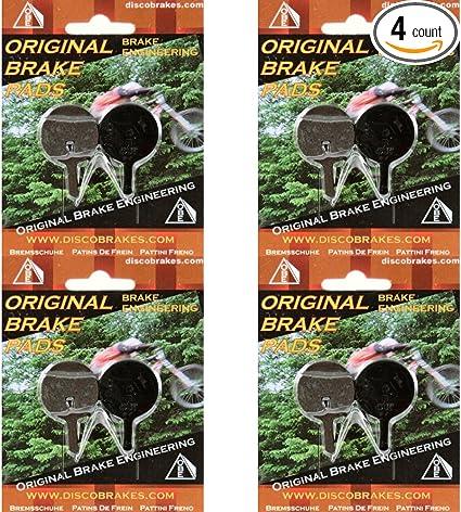 4 Pairs Ceramics Bicycle Disc Brake Pads for AVID BB5