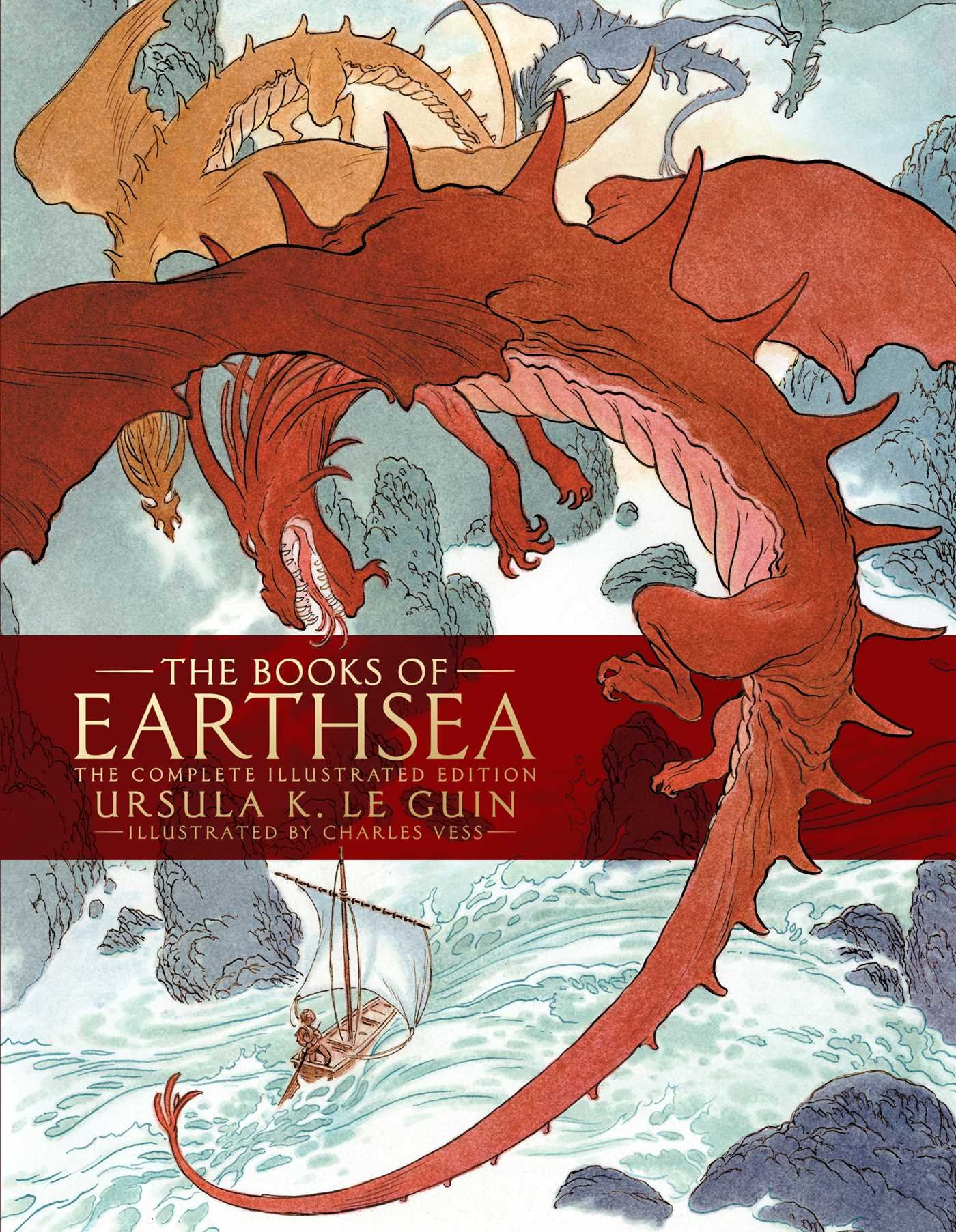 The Books of Earthsea: The Complete Illustrated Edition (Earthsea Cycle) by Gallery / Saga Press