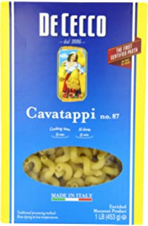 De Cecco Pasta, Cavatappi, 16 Ounce (Pack of 5)