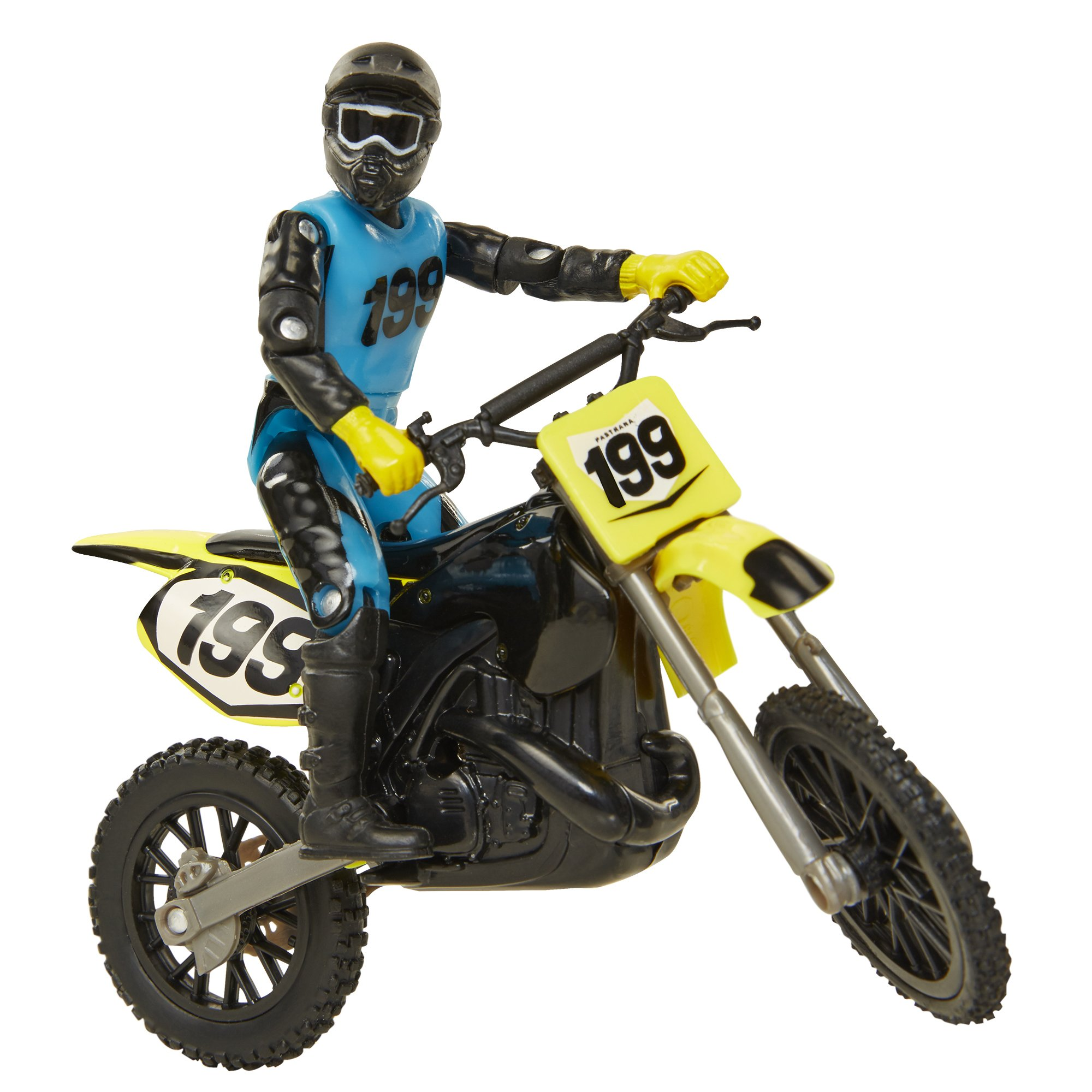 MXS Boys Travis Pastrana SFX Bike & Rider Set by MXS (Image #1)
