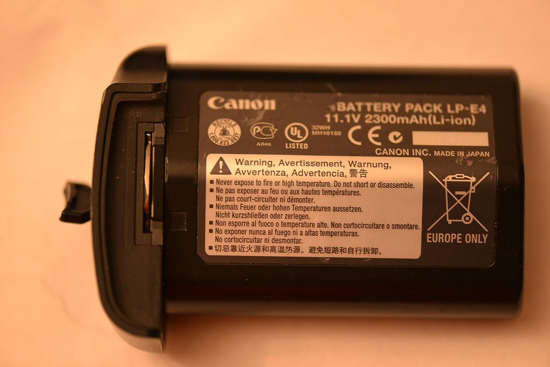 Canon LP-E4 Battery Pack Ión de Litio batería Recargable: Amazon.es: Electrónica