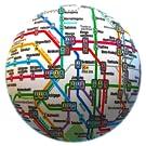 公共交通機関のオフラインマップ – 全世界