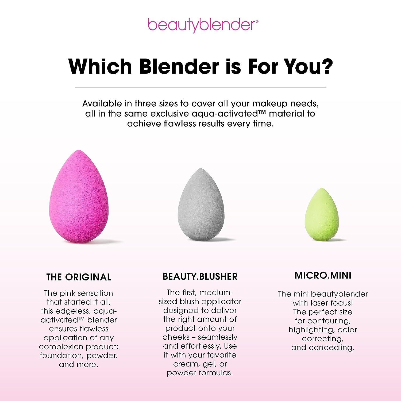 beauty blender  : beautyblender micro.mini: Mini Makeup Sponges for ...