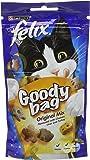 Felix Goody Bag Cat Treat Original Mix, 60 g - Pack of 8