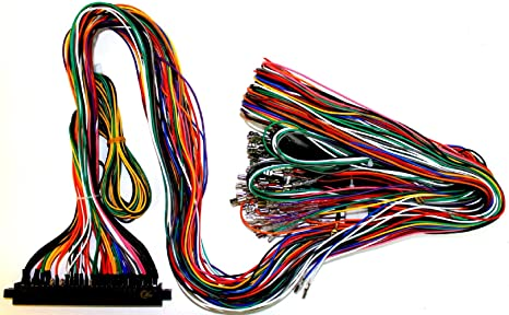 Astonishing Amazon Com Jamma Plus Board Full Cabinet Wiring Harness Loom For Wiring Digital Resources Operpmognl