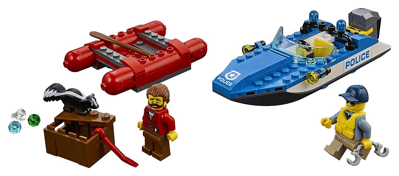 Bord Construction Lego En City Hors 60176 L'arrestation Jeu De WEHe92IDY