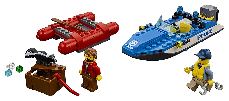 Jeu Lego L'arrestation En Hors De Bord City Construction 60176 YgI6byf7vm