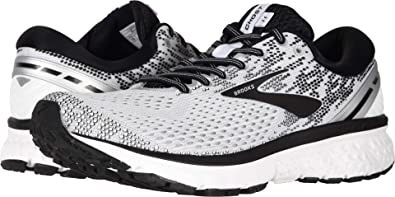 e16a322b57 Brooks Men's Ghost 11 White/Black/White 11.5 D US D (M)