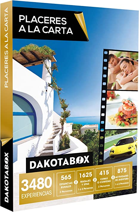 Smartbox DAKOTABOX - Caja Regalo - PLACERES A LA Carta - 3480 ...