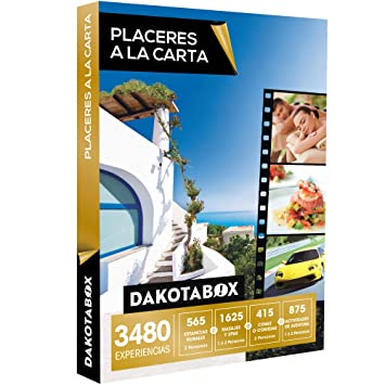DAKOTABOX - Caja Regalo - PLACERES A LA CARTA - 3480 Experiencias imprescindibles: Amazon.es: Deportes y aire libre