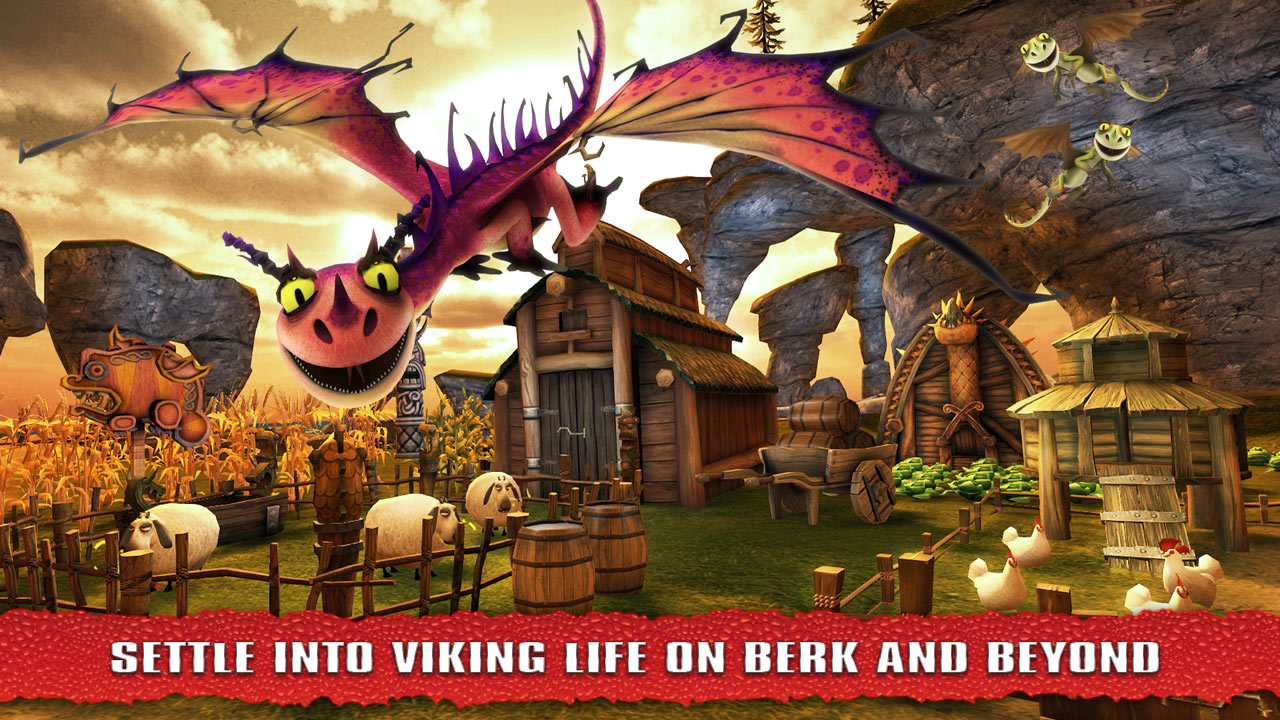 how to train your dragon games for android