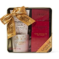 Thoughtfully Gifts, Godiva Hot Chocolate and Coffee Set, Officially Licensed, Includes Godiva Coffee Mug, 2 Packets of…