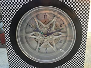 Harbor Freight Tools Tire Rim Gear Clock