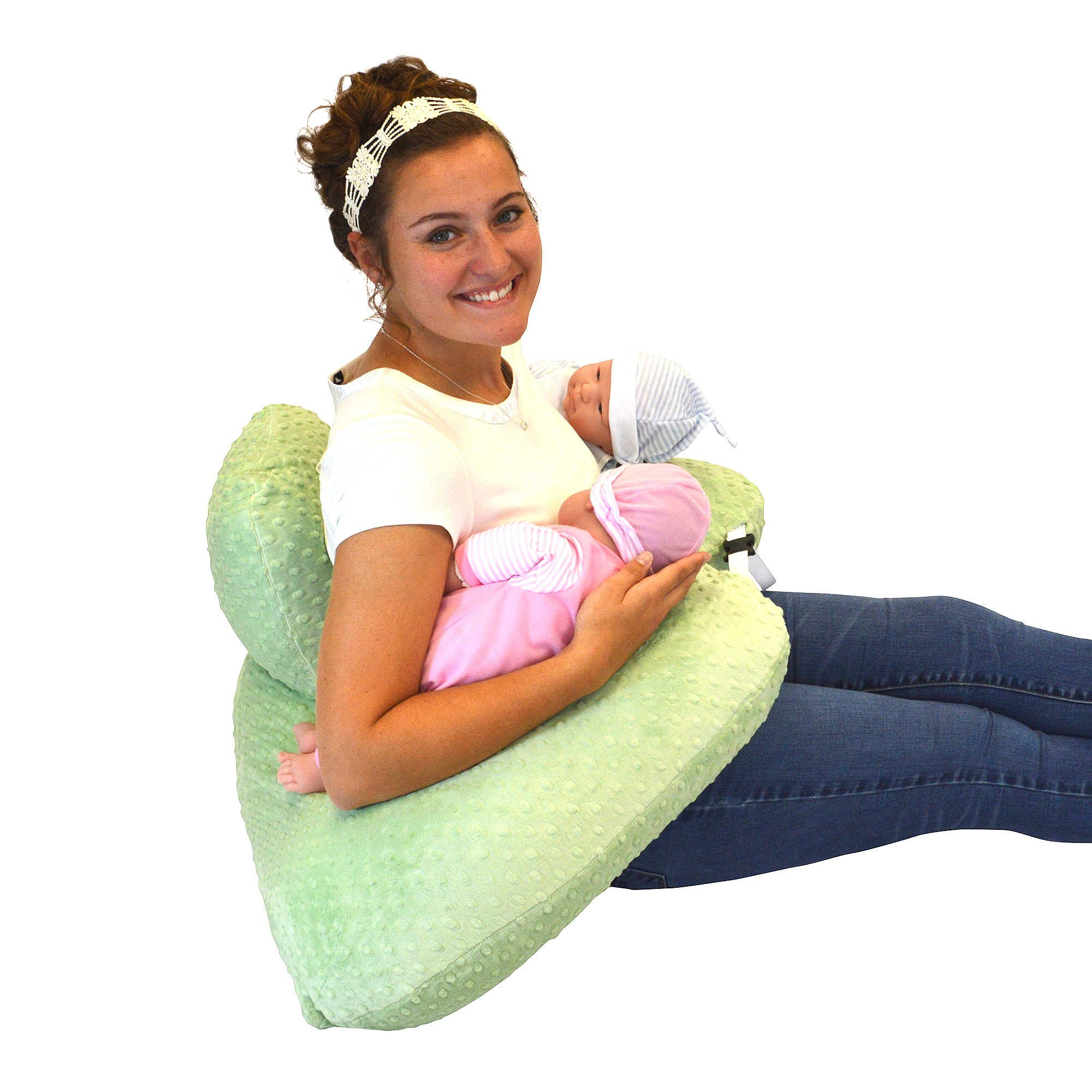 Twin Z Pillow + 1 Designer Anchors Cover + FREE Travel Bag! by Twin Z Pillow (Image #2)