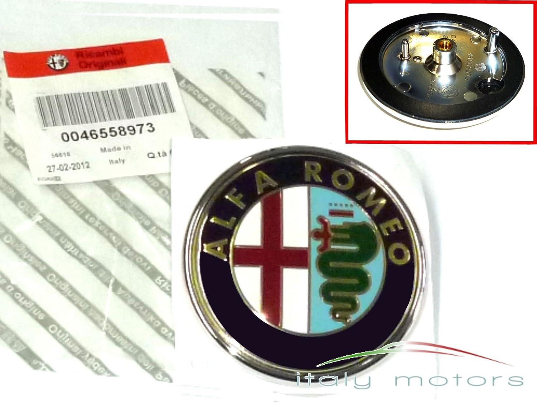 Original Alfa Romeo 147 Emblem Khlergrill Scudetto 50521448 Symbol 46558973 Auto