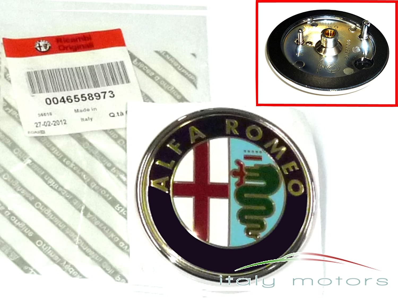 Original alfa romeo mito frontemblem 46558973 50521448 facelift