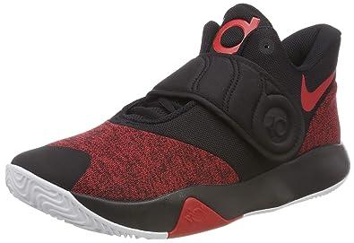 c4040e861ee9 Nike Men s KD Trey 5 VI Black University Red-White Basketball Shoes (AA7067