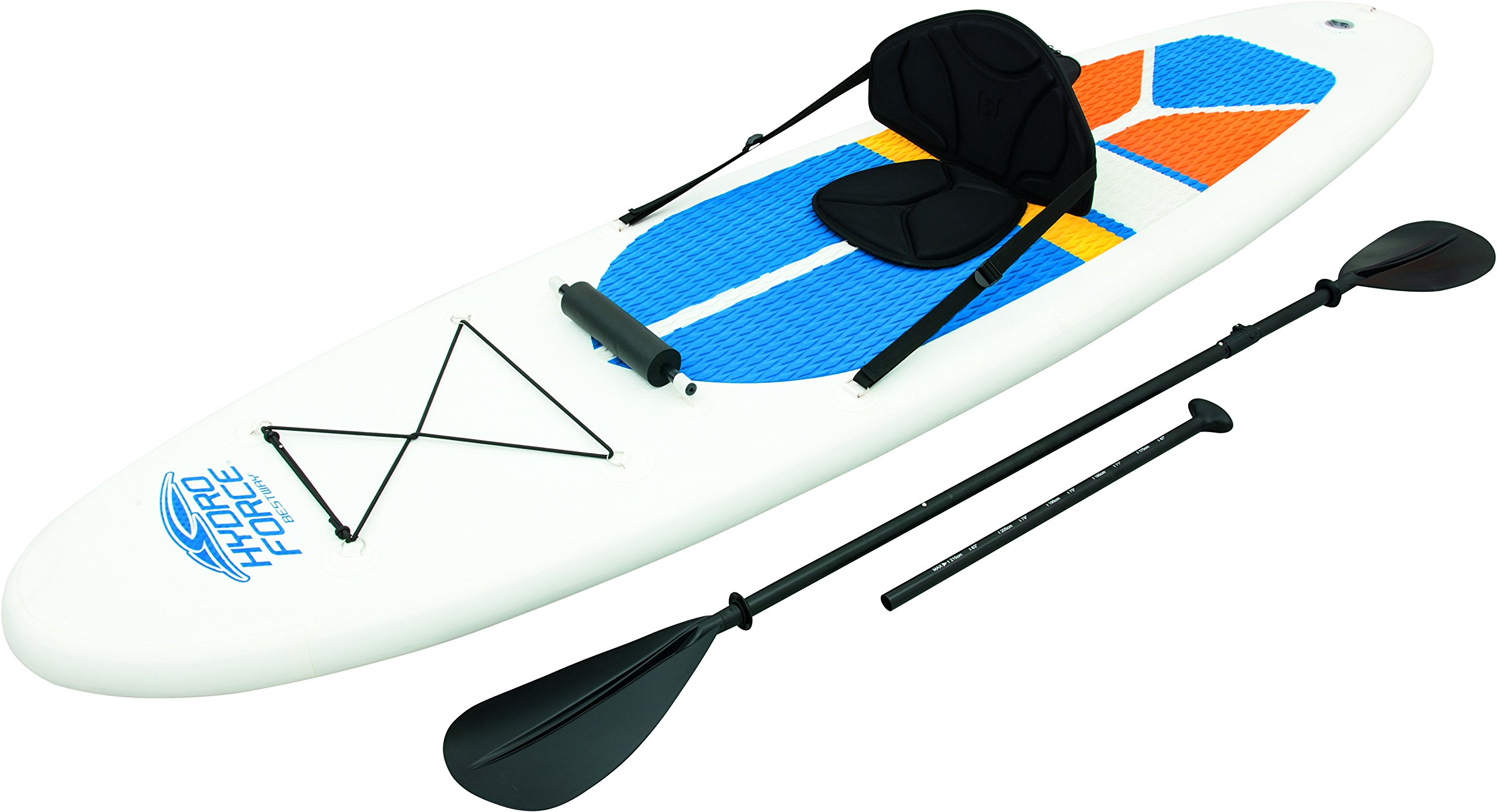 hydro force 10ft inflatable stand up paddle board sup with kayak set ebay. Black Bedroom Furniture Sets. Home Design Ideas