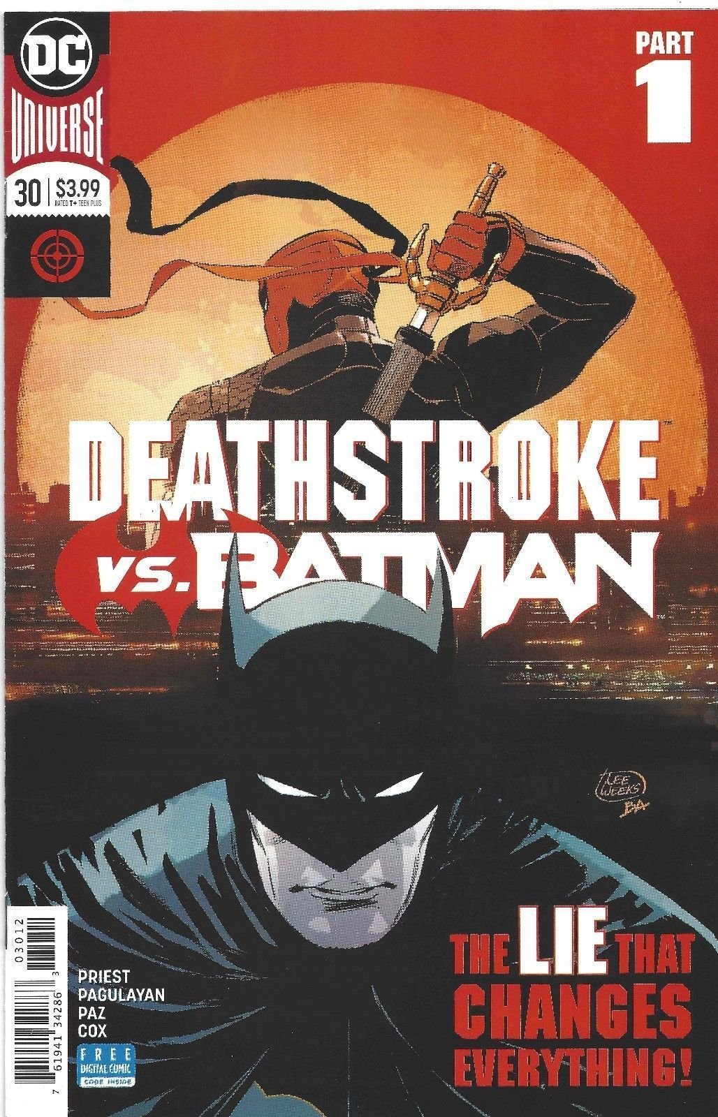 Deathstroke #30 2nd Print PDF