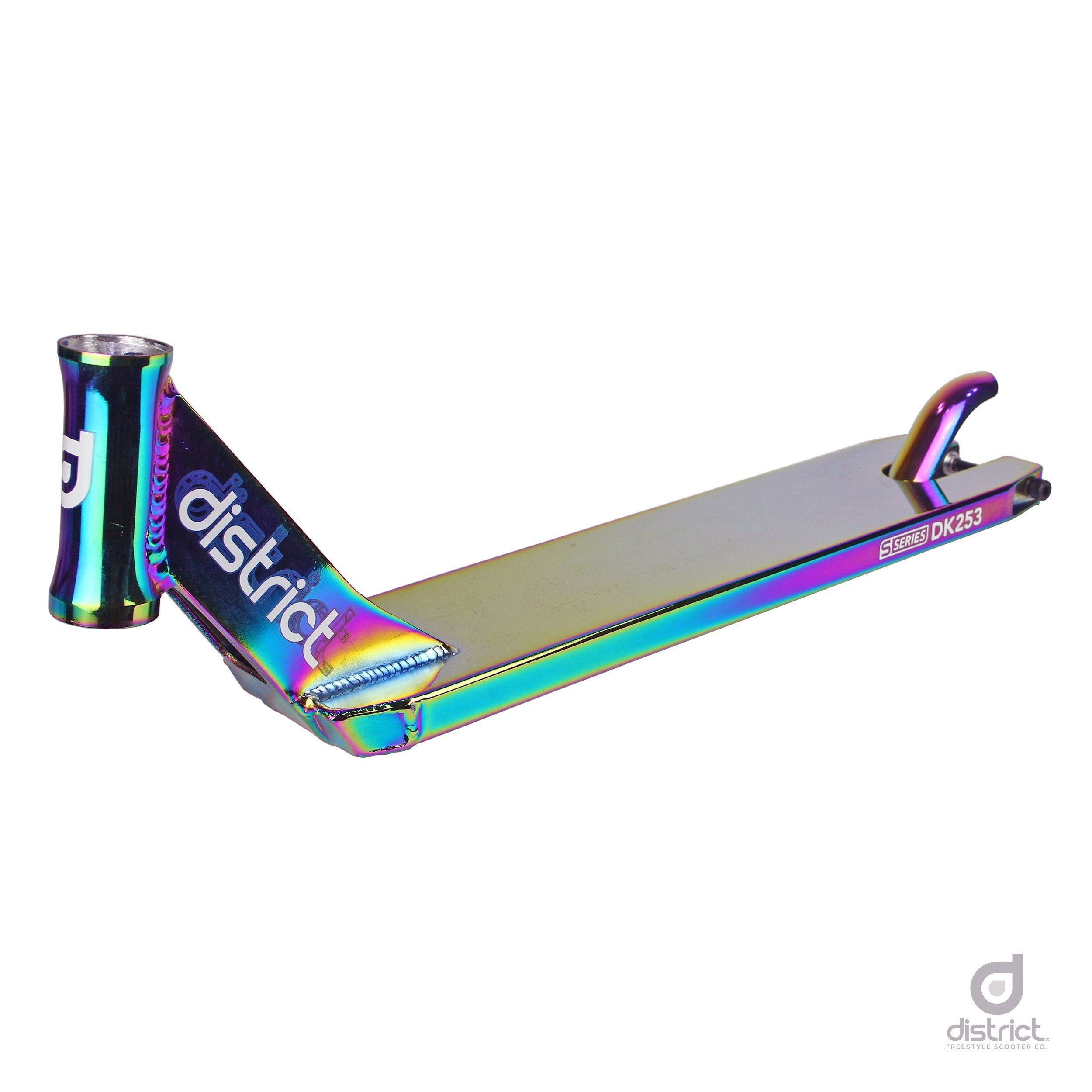 District DK253 Pro Scooter Deck (Neo Chrome)